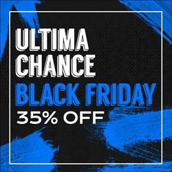 Última Chance Black Friday 35% OFF